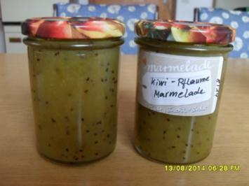 Kiwi-gelbe Pflaumen-Marmelade - Rezept