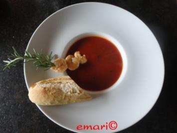 Karibische Tomaten Suppe - Rezept