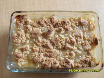 Pflaumen Crumble - Rezept