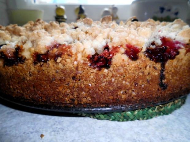 Gabi's erster Pflaumenkuchen mit Pflaumen aus Nachbar's Garten - und auch letzer Kuchen - Rezept - Bild Nr. 17