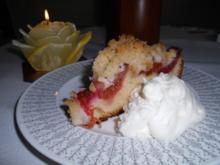 Gabi's erster Pflaumenkuchen mit Pflaumen aus Nachbar's Garten - und auch letzer Kuchen - Rezept