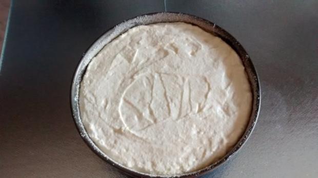 schneller Quark- Käsekuchen mit Vanillegeschmack - Rezept - Bild Nr. 4