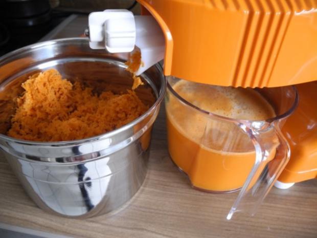 Selbstgepressten Karotten - Apfelsaft - Rezept - Bild Nr. 3