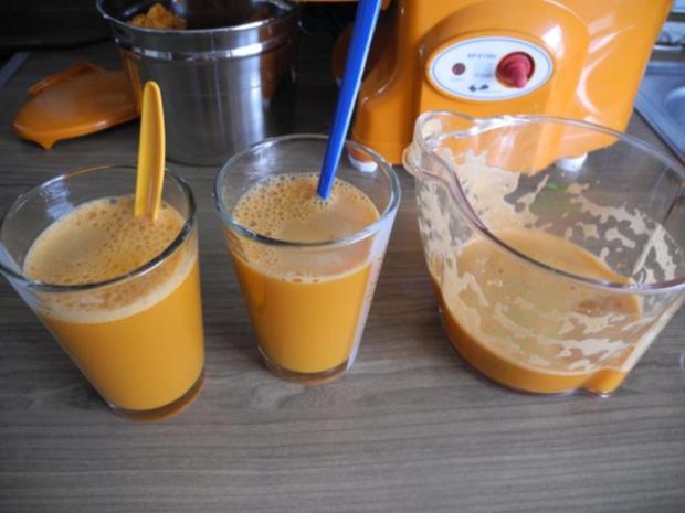 Selbstgepressten Karotten - Apfelsaft - Rezept - Bild Nr. 4