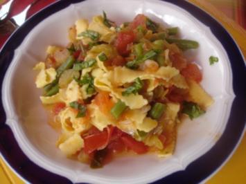 Gemüse-Pasta - Rezept