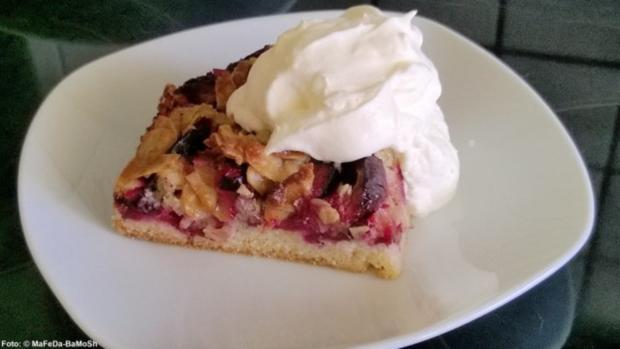 Zwetschgen-Kuchen mit Mandelkruste - Rezept - Bild Nr. 3