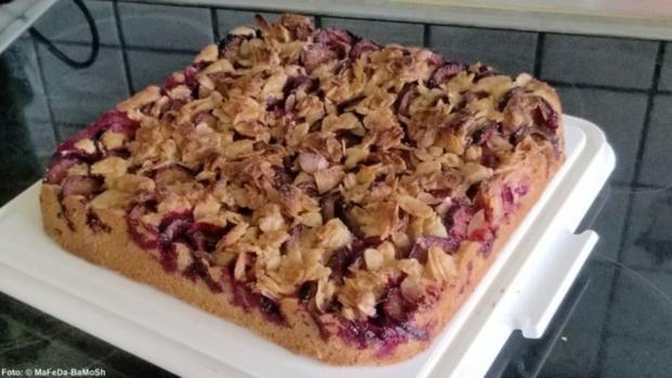 Zwetschgen-Kuchen mit Mandelkruste - Rezept - Bild Nr. 2