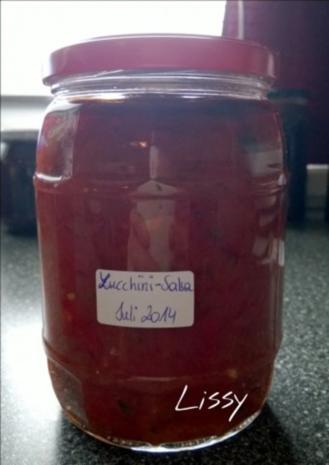Zucchini-Salsa - Rezept