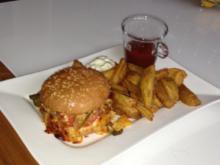 Schnäppchenchicken-Burger - Rezept