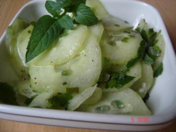 Gurkensalat nach meiner Art - Rezept