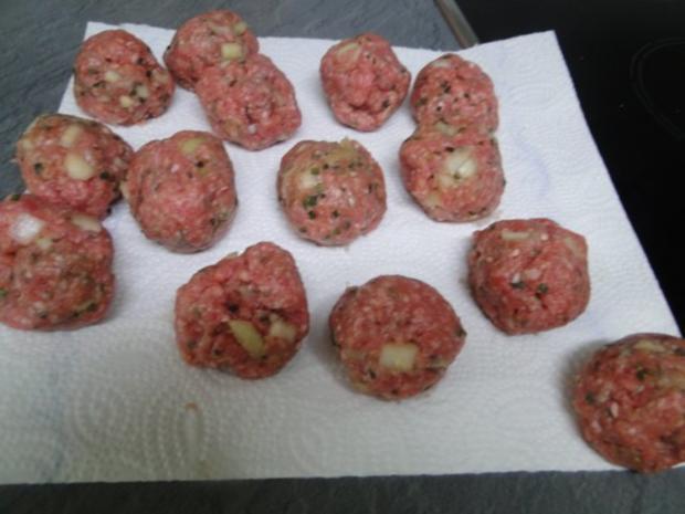Kohlrabi-Kartoffelauflauf mit Käse Männe wollte Frikadellen dazu - Rezept - Bild Nr. 6