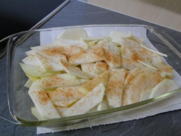 Kohlrabi-Kartoffelauflauf mit Käse Männe wollte Frikadellen dazu - Rezept - Bild Nr. 9