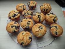 Heidelbeer-Eierlikör-Muffins - Rezept