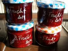 Koinfitüre & Co: Dreifrucht 2014 - Rezept