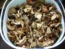 Vorrat: Getrocknete Steinpilze - Rezept