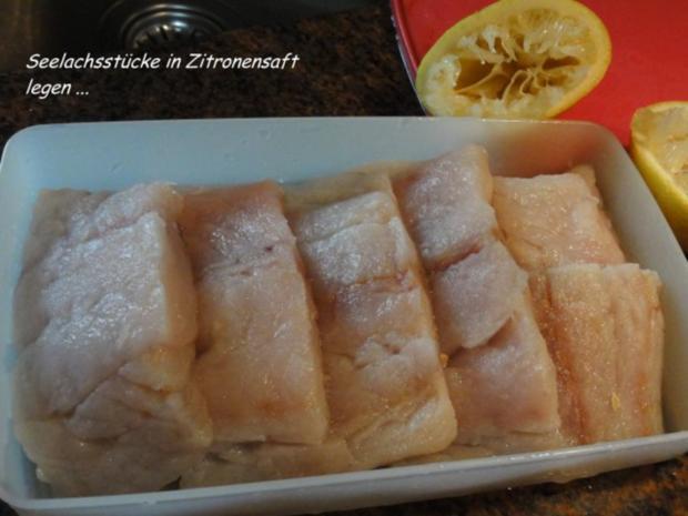 Fisch:   SEELACHS-FILET in Kartoffelkruste - Rezept - Bild Nr. 2