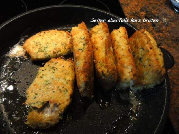 Fisch:   SEELACHS-FILET in Kartoffelkruste - Rezept - Bild Nr. 10