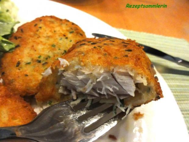 Fisch:   SEELACHS-FILET in Kartoffelkruste - Rezept - Bild Nr. 11