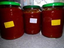 Tomaten-Ketchup einfach - Rezept