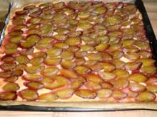 saftiger Pflaumenkuchen vom Blech - Rezept