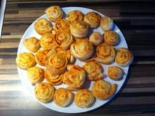 Käse/Salami Schnecken - Rezept