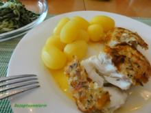 Fisch:  SKREI - FILET mit Gewürzei ummantelt - Rezept