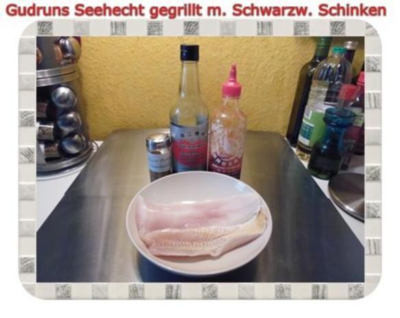 Fisch: Seehecht im Schwarzwälder Mantel gegrillt - Rezept - Bild Nr. 3