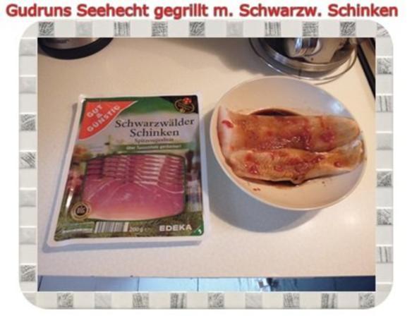 Fisch: Seehecht im Schwarzwälder Mantel gegrillt - Rezept - Bild Nr. 5