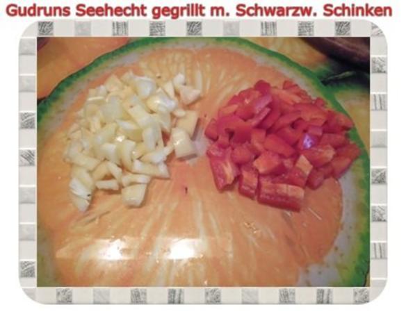 Fisch: Seehecht im Schwarzwälder Mantel gegrillt - Rezept - Bild Nr. 9