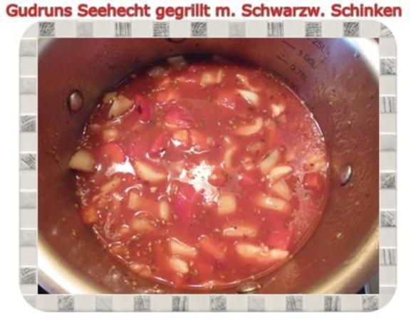 Fisch: Seehecht im Schwarzwälder Mantel gegrillt - Rezept - Bild Nr. 10