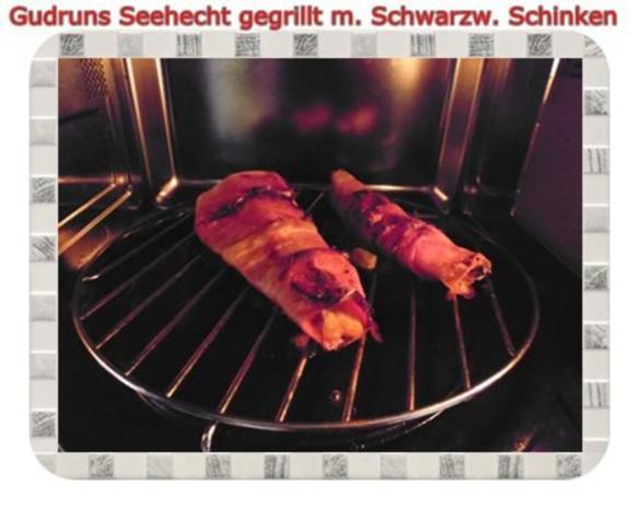 Fisch: Seehecht im Schwarzwälder Mantel gegrillt - Rezept - Bild Nr. 13