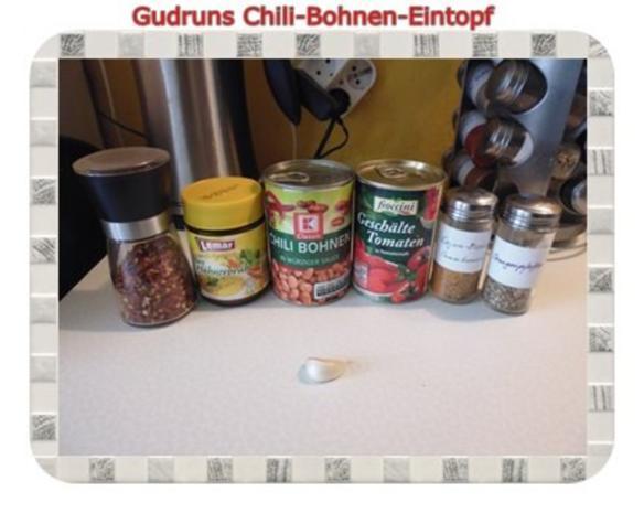 Eintopf: Chili-Bohnen-Eintopf - Rezept - Bild Nr. 2
