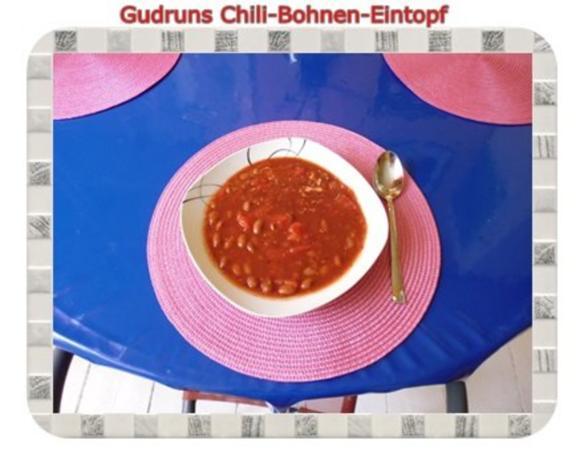 Eintopf: Chili-Bohnen-Eintopf - Rezept - Bild Nr. 4