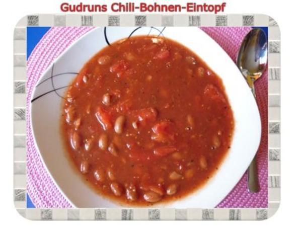 Eintopf: Chili-Bohnen-Eintopf - Rezept - Bild Nr. 5