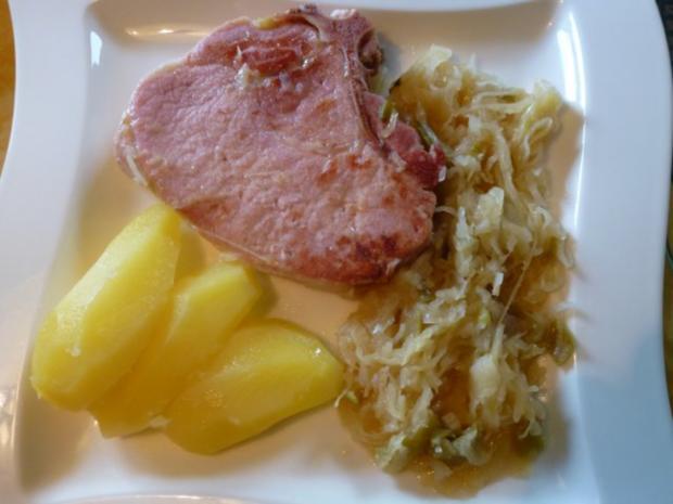 Hessische Rippchen mit Apfelwein-Kraut - Rezept - Bild Nr. 2