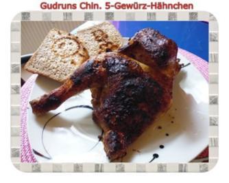 Geflügel: Halbes 5-Gewürz-Hähnchen - Rezept