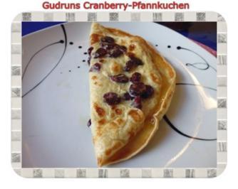 Kuchen: Cranberrypfannkuchen - Rezept