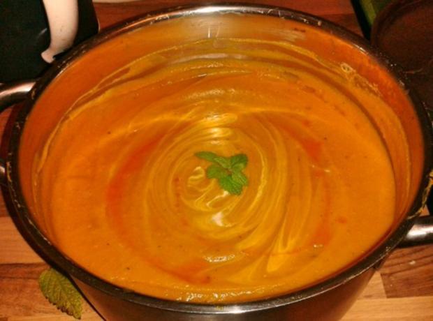 Einfache Kürbissuppe - Rezept