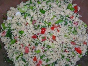 Rezept: Tabouleh / Couscous-Salat