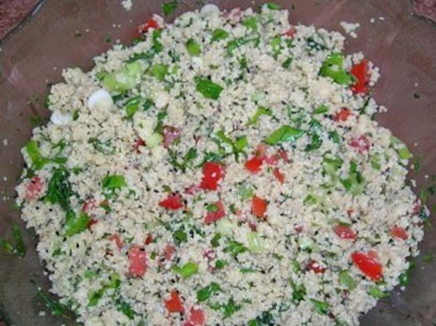 Tabouleh / Couscous-Salat - Rezept - Bild Nr. 2
