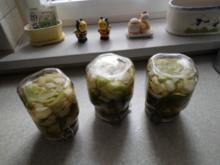 Senf-Dill-Gurken süß-sauer - Rezept
