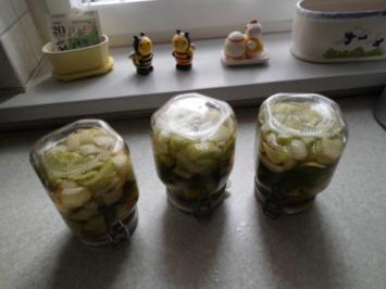 Rezept: Senf-Dill-Gurken süß-sauer