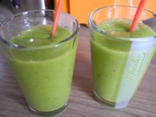 Smoothie : Energie - Smoothie Nr. 4 ...ganz in Grün...noch Einen - Rezept
