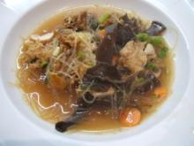 Suppen: Asiatisch angehauchte Pilzsuppe - Rezept