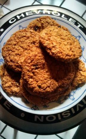 """Oatmeal Raisin Cookies """"California"""" - Rezept"""