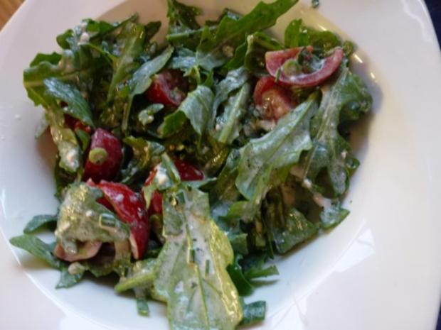 Wilde Rauke-Tomatensalat - Rezept - Bild Nr. 4