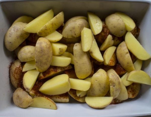 Paprika Kartoffelecken - Rezept - Bild Nr. 7