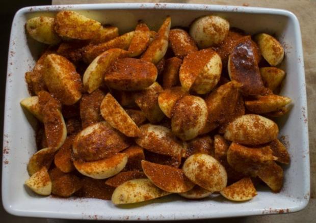 Paprika Kartoffelecken - Rezept - Bild Nr. 8