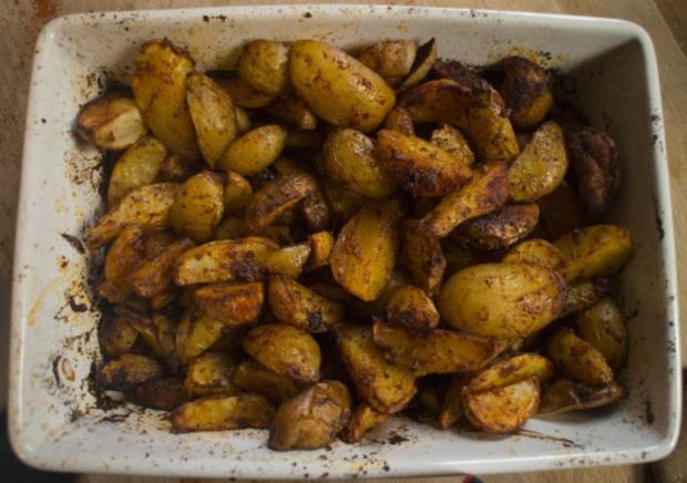 Paprika Kartoffelecken - Rezept - Bild Nr. 9