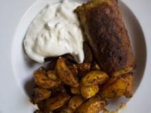 Paprika Kartoffelecken - Rezept